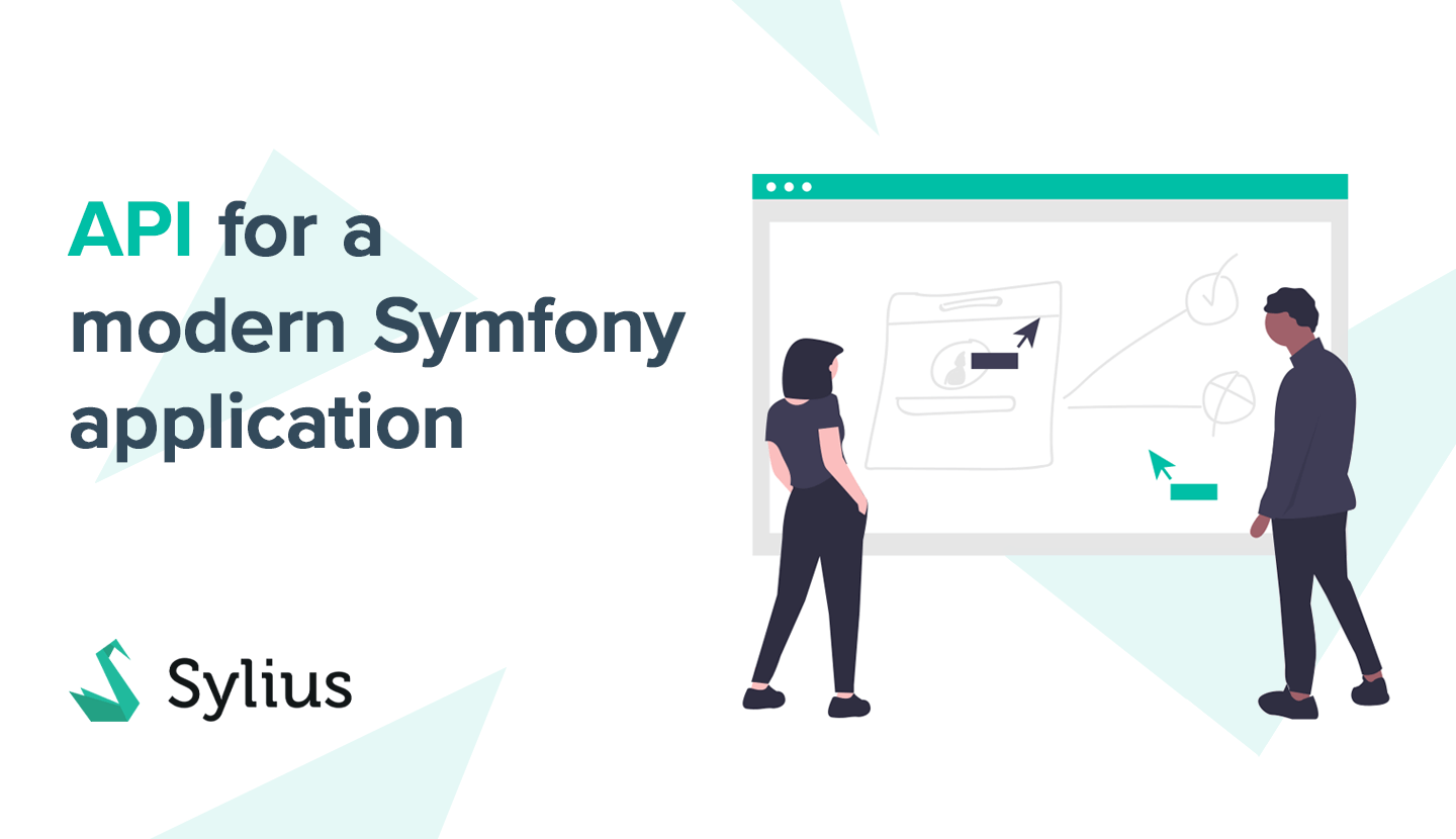 API for a modern Symfony application