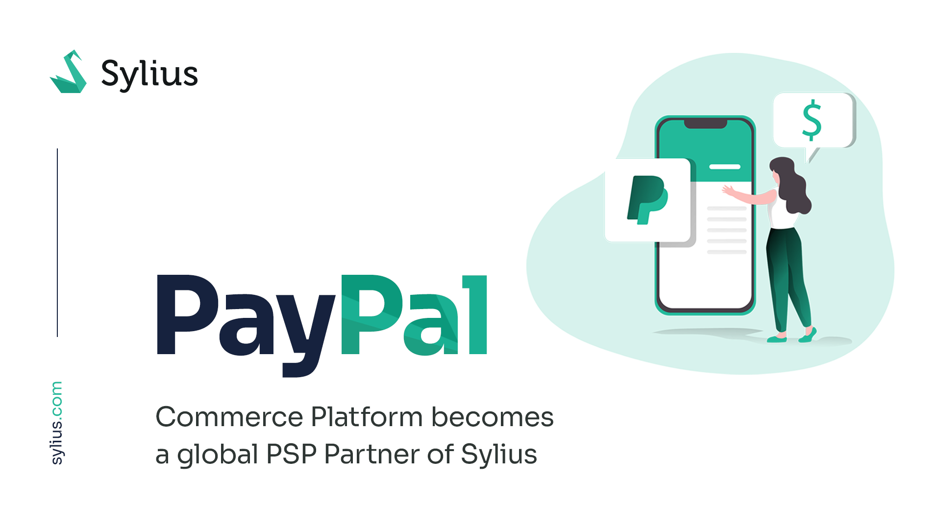 PayPal Commerce Platform becomes a global PSP Partner of Sylius