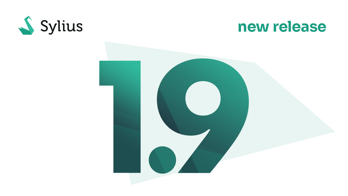 New Release: Sylius v1.9 – upgrade to Symfony 5, richer API, PayPal by default & more
