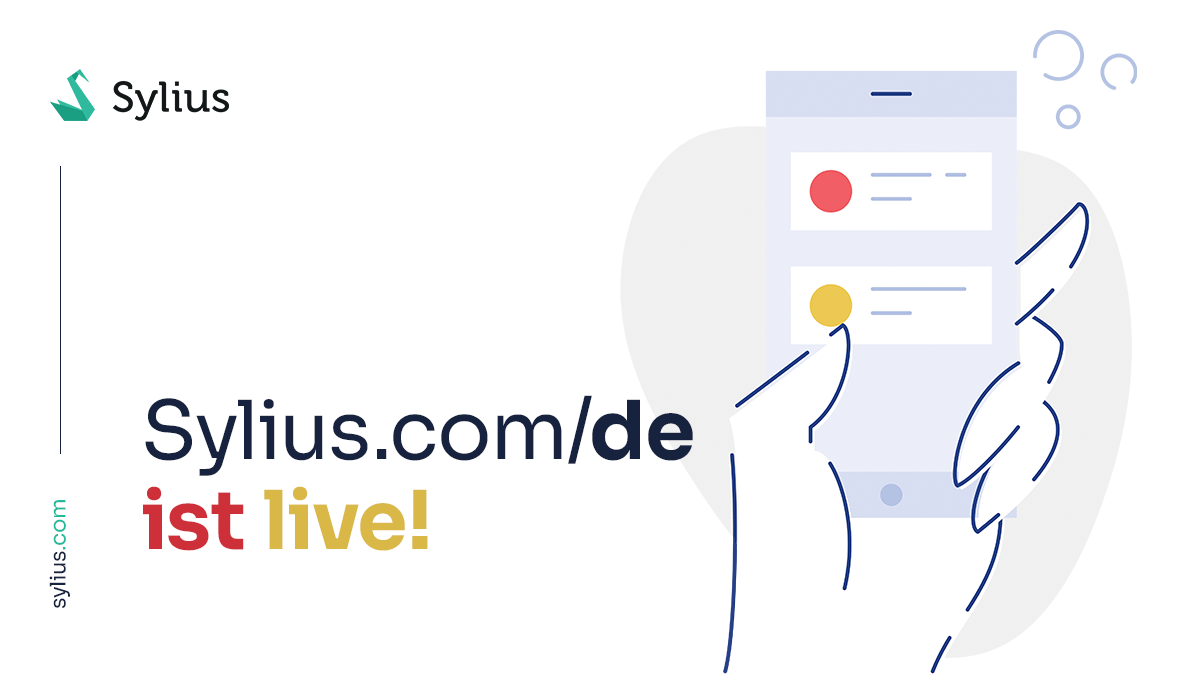 Sylius.com/de launch – making it easier to understand Sylius benefits in 🇩🇪