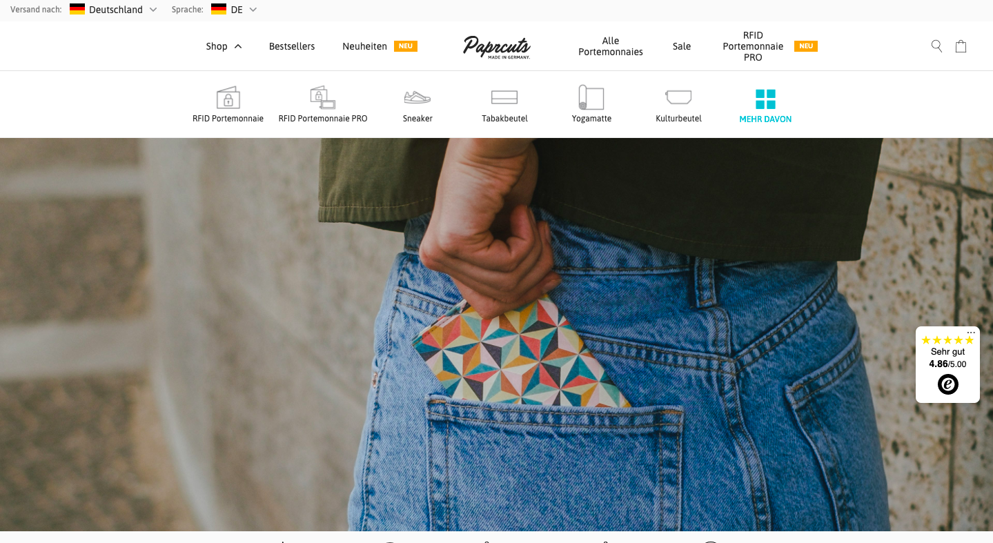 Paprcuts – online store