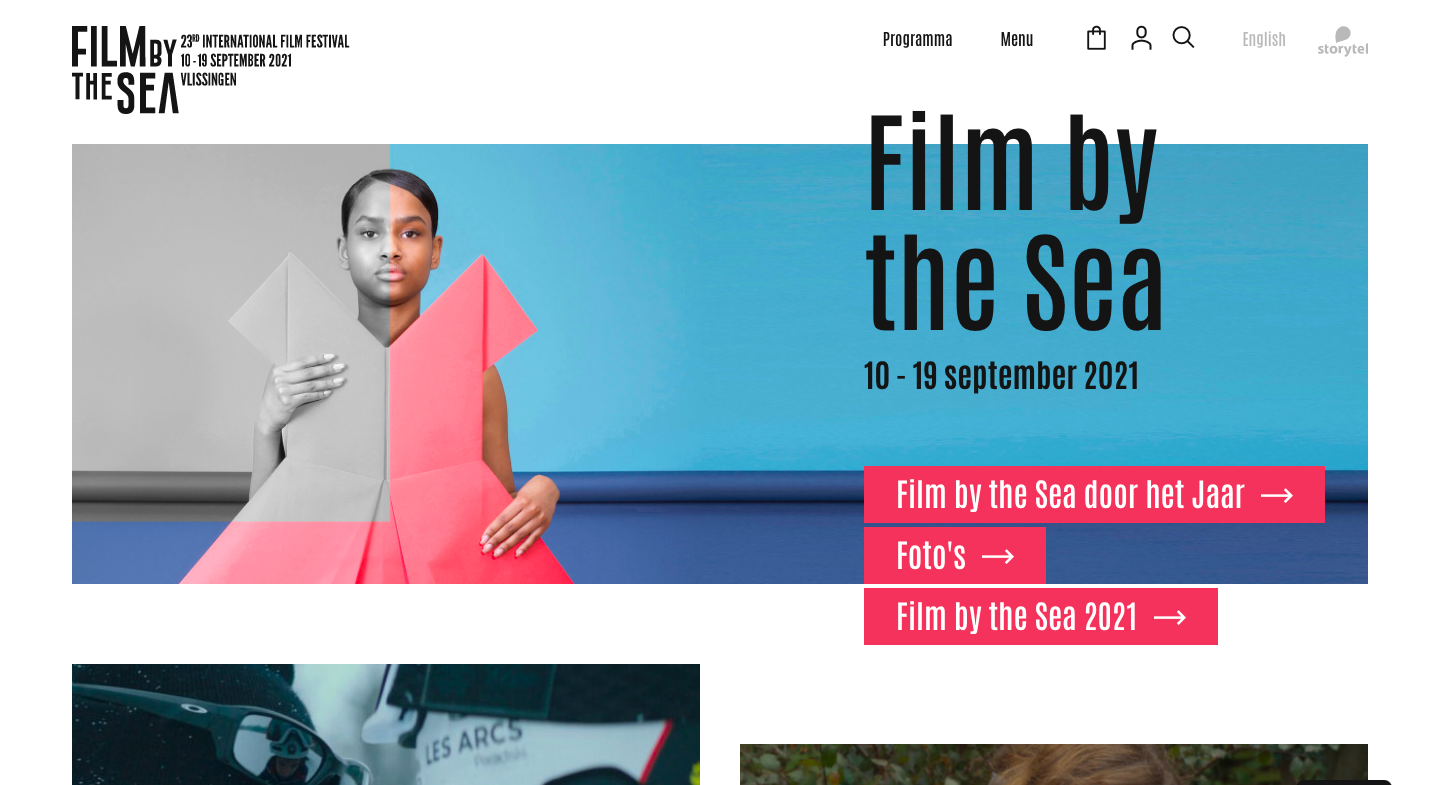 Film by the Sea – ticketing system