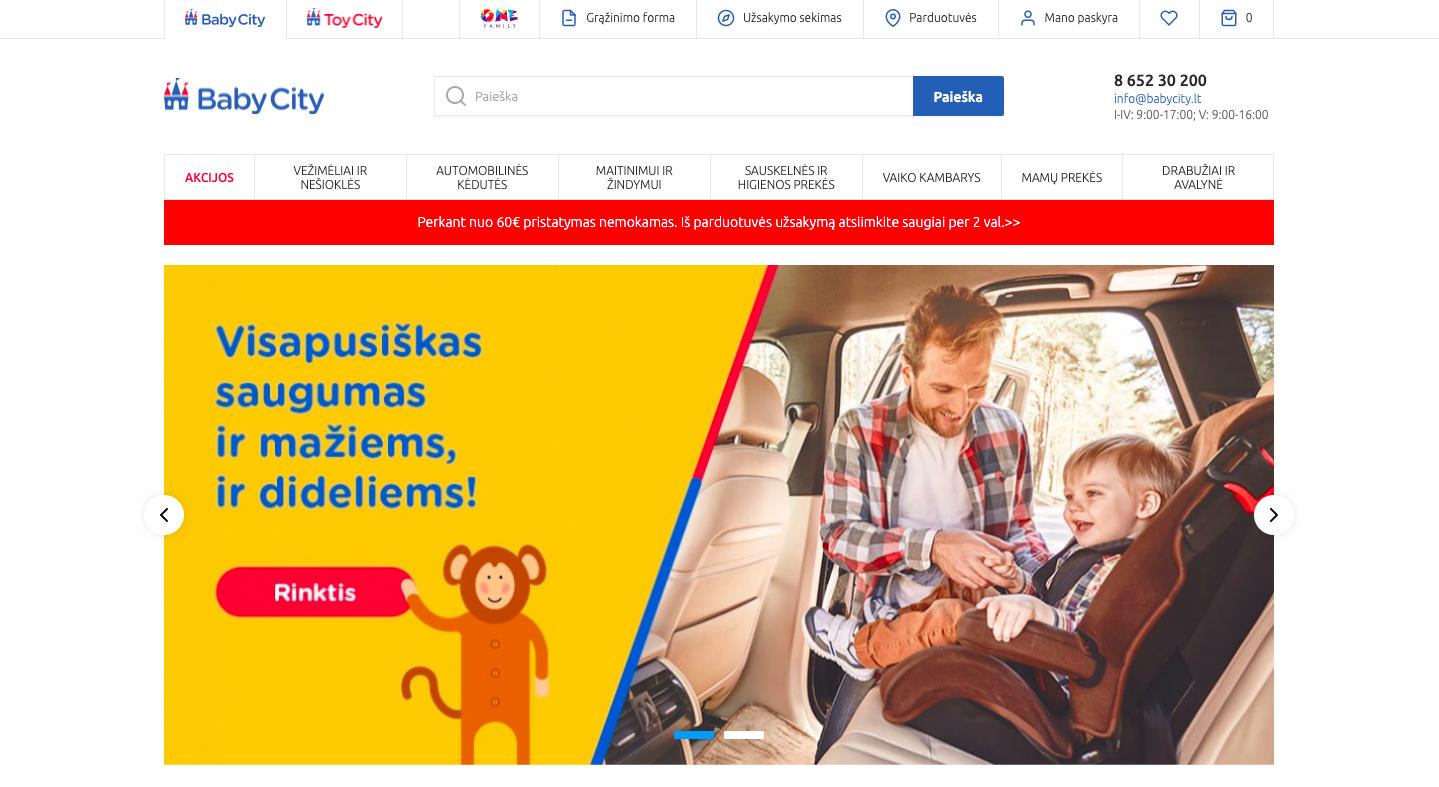 BabyCity – online store
